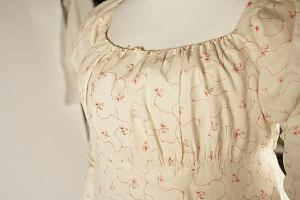 Almost raglan sleeve dress
